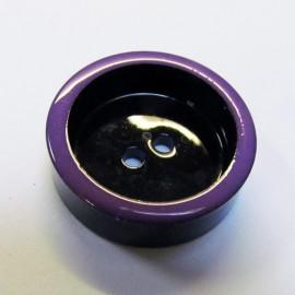 Bouton vintage violet