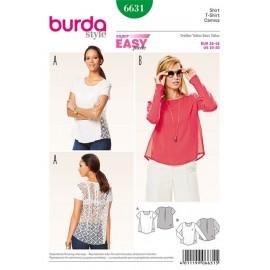 T-shirt Burda n°6631