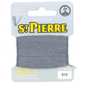 Laine Saint Pierre pour repriser / broder - marengo n°912