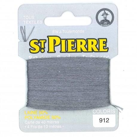 Laine Saint Pierre 40 M card Darning / embroidery - 912 Marengo