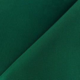 Tissu toile Plein Air Dralon® uni (320cm) - vert sapin x 10cm