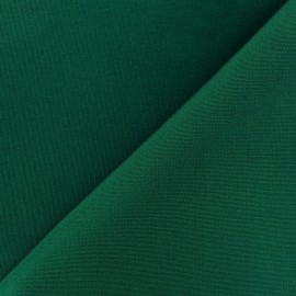 Tissu toile Plein Air uni (320cm) - vert sapin x 10cm