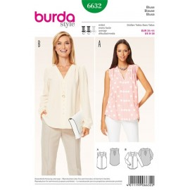 Patron Blouse Burda n°6632