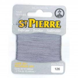 Laine Saint Pierre pour repriser / broder - poussière n°126