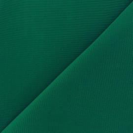 Tissu toile Plein Air uni (320cm) - émeraude x 10cm