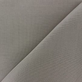 Tissu toile Plein Air Dralon® uni (320cm) - tourterelle x 10cm