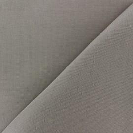 Tissu toile Plein Air uni (320cm) - tourterelle x 10cm