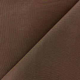 Tissu toile Plein Air Dralon® uni (320cm) - cacao x 10cm