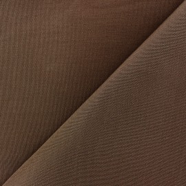 Tissu toile Plein Air uni (320cm) - cacao x 10cm
