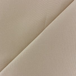 Tissu toile Plein Air uni (320cm) - sable x 10cm