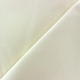 Tissu toile Plein Air Dralon® uni (320cm) - écru x 10cm