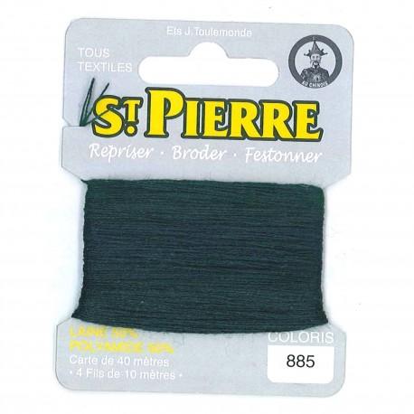 Laine Saint Pierre pour repriser / broder - lierre n°885