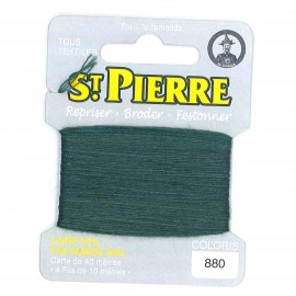 Laine Saint Pierre 40 M card Darning / embroidery - 880 Cactus