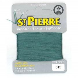 Laine Saint Pierre pour repriser / broder - amande n°815