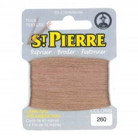 Laine Saint Pierre pour repriser / broder - automne n°260