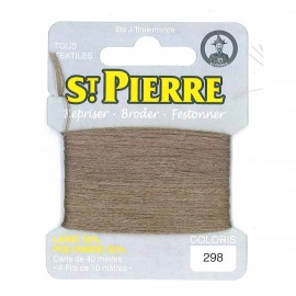 Laine Saint Pierre 40 M card Darning / embroidery - 298 Teckel