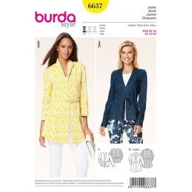 Veste Burda n°6637