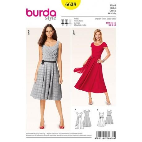 Dress Burda n°6638