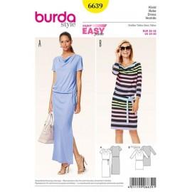 Robe Burda n°6639