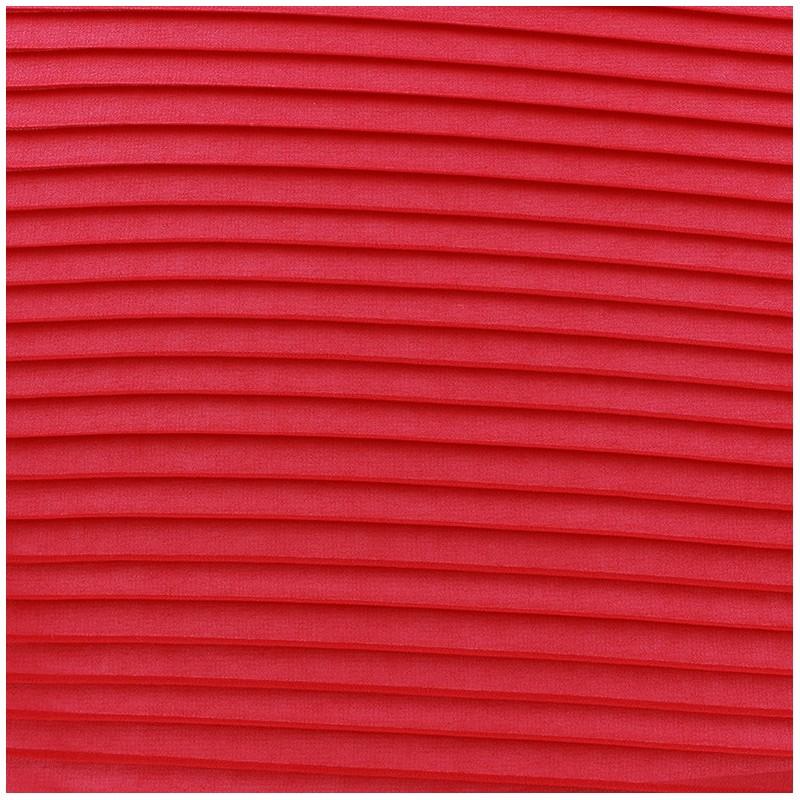 tissu cr pe l ger pliss rouge x 50cm ma petite mercerie. Black Bedroom Furniture Sets. Home Design Ideas