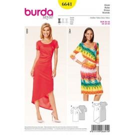 Robe Burda n°6641