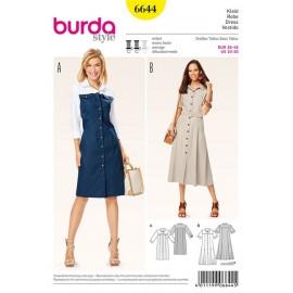 Robe Burda n°6644