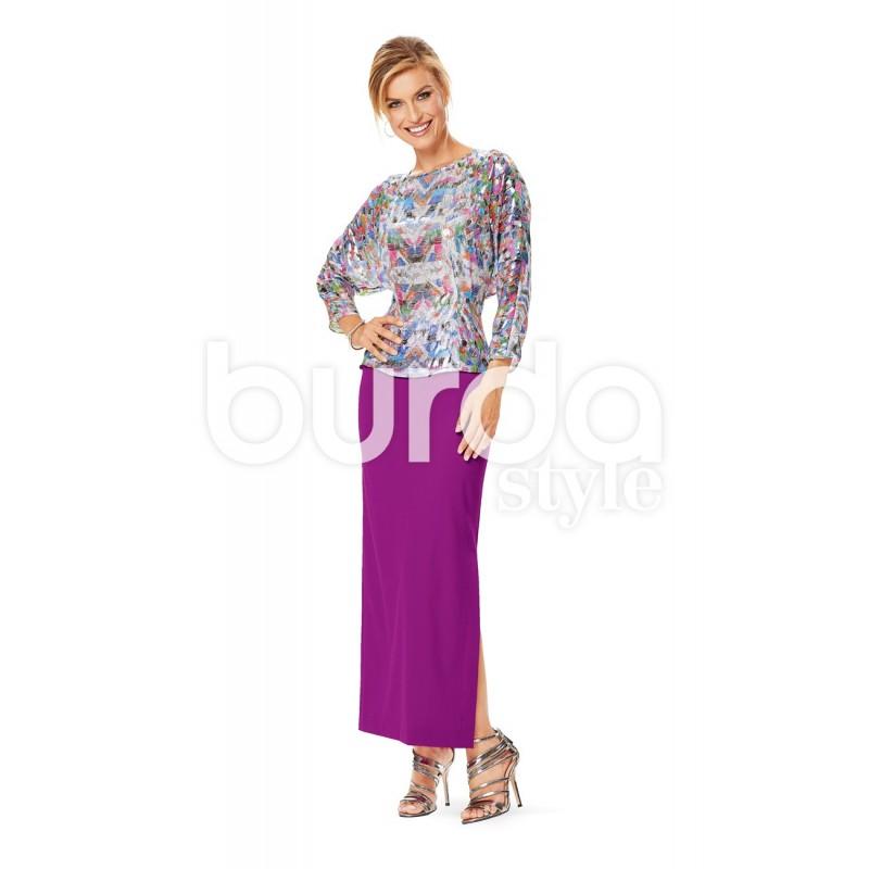 Skirt Burda N 6648 Ma Petite Mercerie