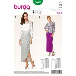 Jupe Burda n°6648