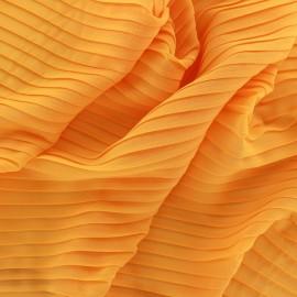 Tissu crêpe léger plissé - soleil x 50cm