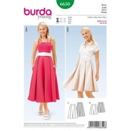 Jupe Burda n°6650