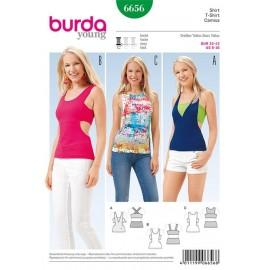 T-shirt Burda n°6656