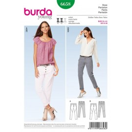 Pantalon Burda Young n°6658