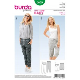 Pantalon Burda Young n°6659