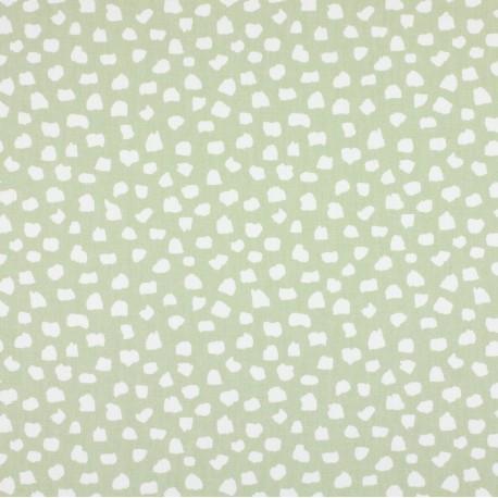 Tissu coton enduit vernis Dita - lin x 10cm