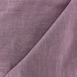 Thevenon washed Linen Fabric - parma x 10cm