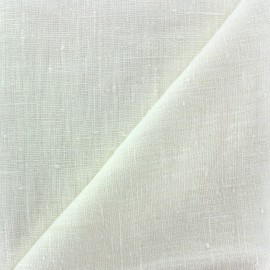 Thevenon washed Linen Fabric - off white x 10cm
