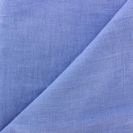 Tissu lin lavé Thevenon - lavande x 10cm
