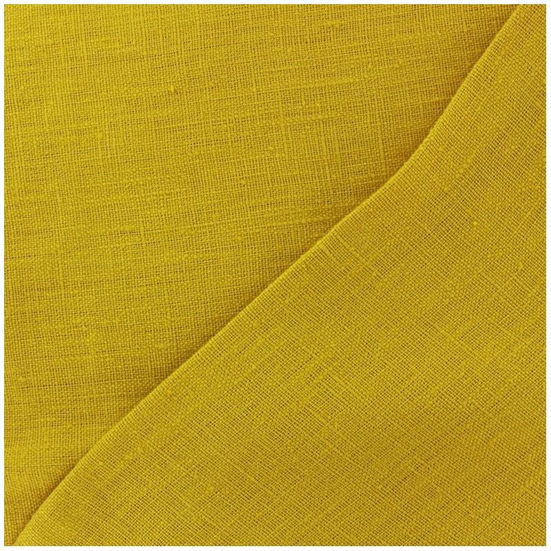 tissu lin lav thevenon moutarde x 10cm ma petite mercerie. Black Bedroom Furniture Sets. Home Design Ideas
