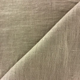 Thevenon washed Linen Fabric - linen x 10cm