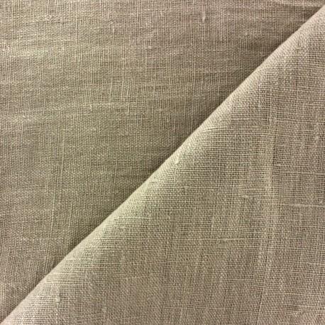 Thevenon washed Linen Fabric - linen x 10cm