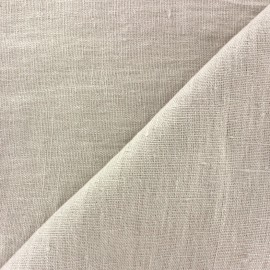 Thevenon washed Linen Fabric - fog x 10cm