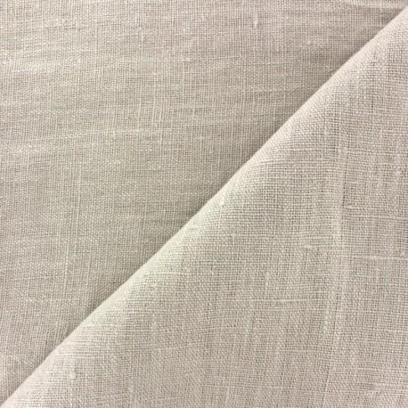 Thevenon washed Linen Fabric - fog x 10cm