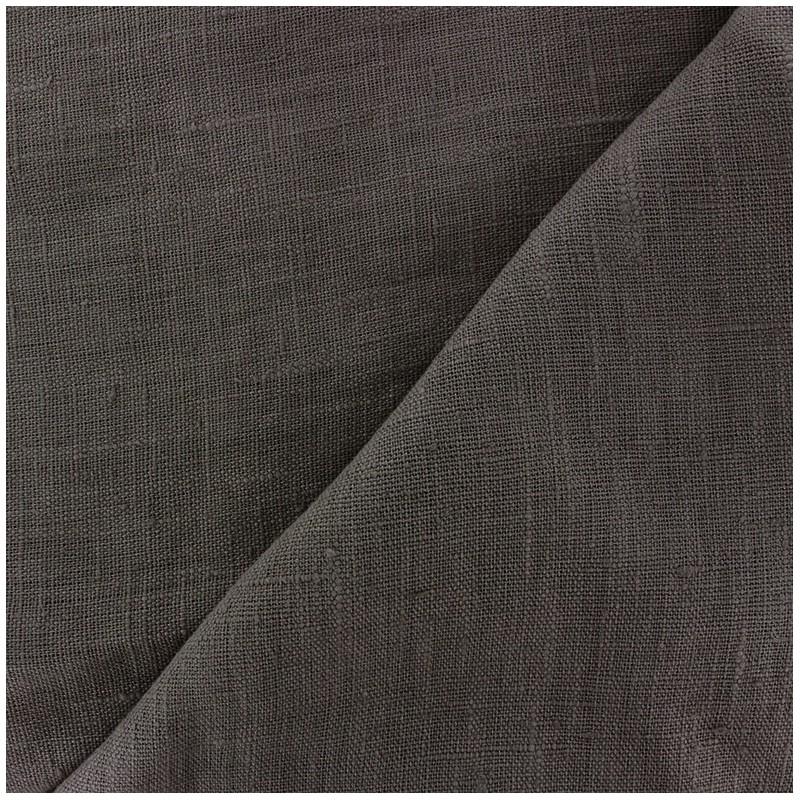 Tissu lin lav thevenon gris anthracite x 10cm ma petite mercerie - Tissu gris anthracite ...
