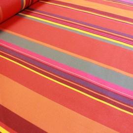 Tissu toile Plein Air Saint Tropez (320cm) - rouge x 10cm