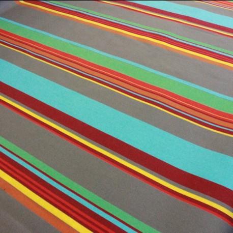 Canvas Fabric Plein Air Saint Tropez 320cm - turquoise x 10cm