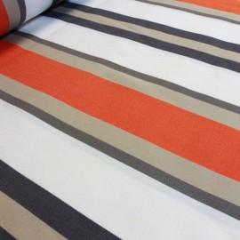 Tissu toile Plein Air Tango 320cm - orange x 10cm
