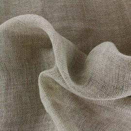 Tissu toile à beurre 100% lin - naturel x 10cm