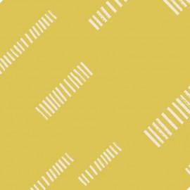 Tissu Atelier Brunette Dash Lime x 10cm