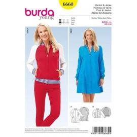 Coat and Jacket Burda Young n°6660