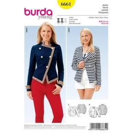 Veste Burda Young n°6661